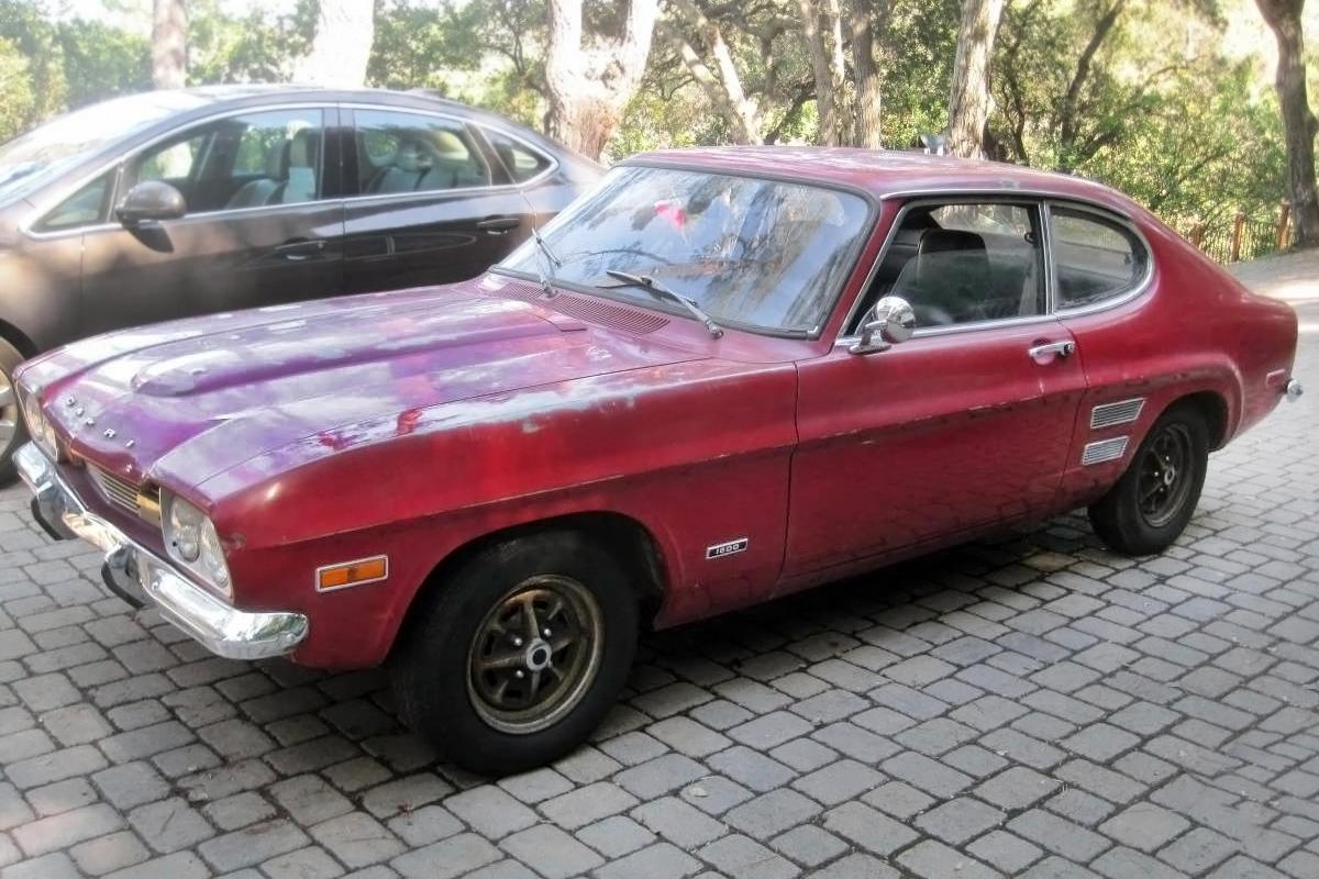 German british ford 1971 mercury capri