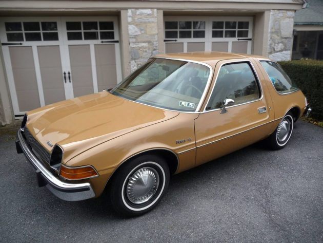 Values Are On The Rise: 1975 AMC Pacer D/L