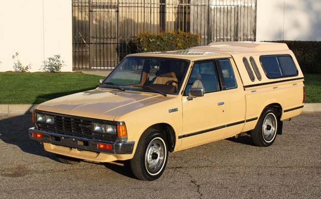 One-Owner: 1984 Nissan 720 King Cab