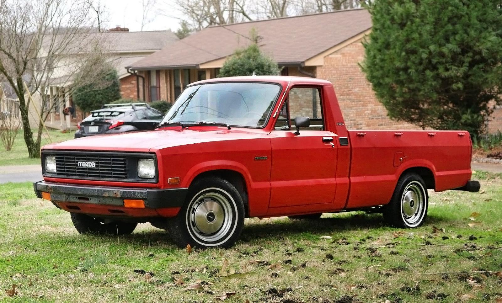 Sweet Oil-Burner: 1984 Mazda B2200 sel