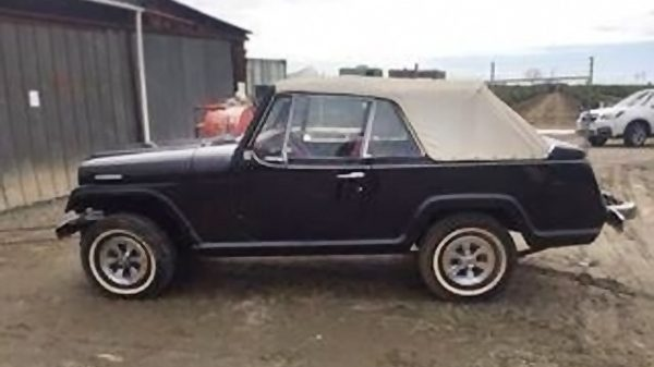 Very Tempting: 1968 Jeepster Commando