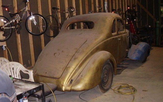 Compressed Art: 1937 Graham 116 Supercharged