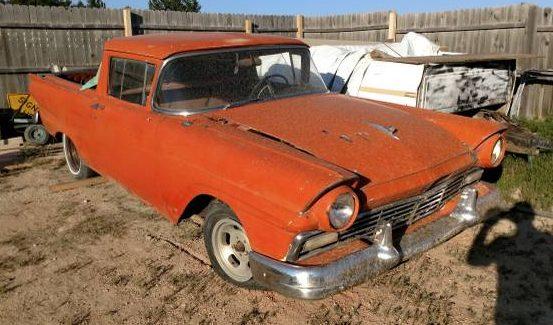 Dry Rust? 1957 Ford Ranchero
