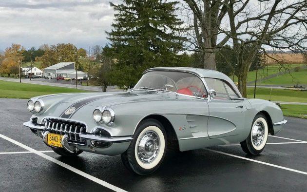 Sold by Spud! Amazing 1960 Corvette Survivor!