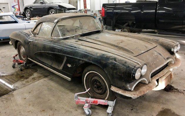 Dusty Project 1962 Corvette Convertible