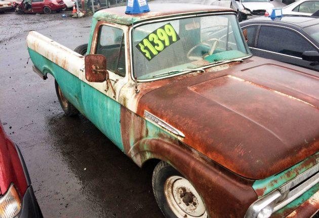 Roadside Sighting: Cheap 1963 Ford F100
