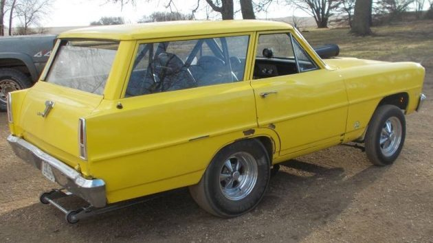 Don't Call Me Shorty: 1966 Chevy II Drag Car