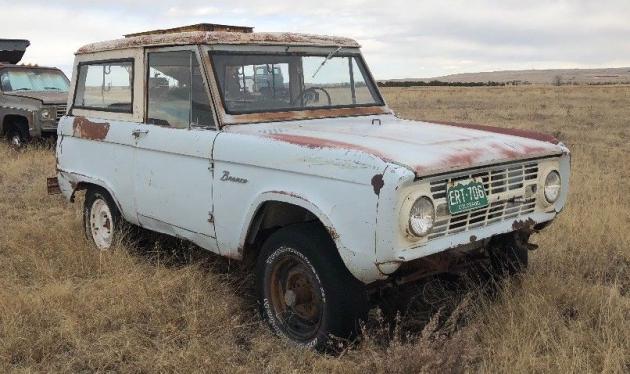 First Year Fun: 1966 Ford Bronco