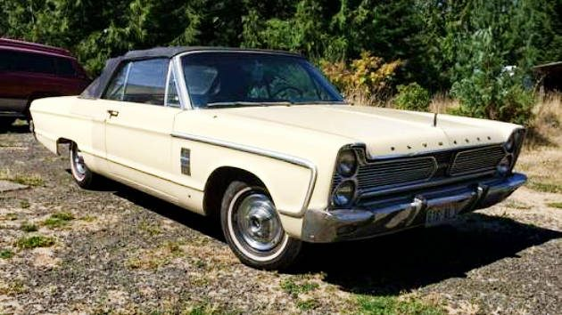 Needs Some Love: 1966 Plymouth Fury III Convertible