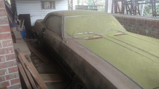 Parked in '98! 1969 Chevrolet Camaro Z/28