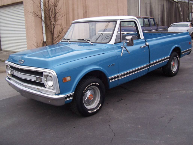 A Distinctive Daily Driver: 1969 Chevrolet C10