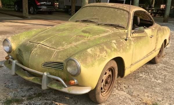 Dusty and Musty: 1969 Volkswagen Karmann Ghia