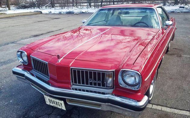 Red And Red 1975 Oldsmobile Cutlass S