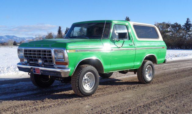 Green With Envy: 1979 Ford Bronco Ranger XLT