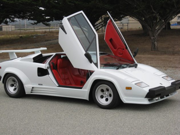 19k mile survivor 1988 lamborghini countach. Black Bedroom Furniture Sets. Home Design Ideas