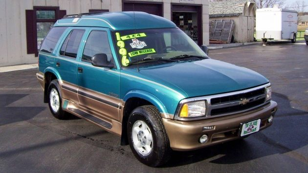 This Chevy Blazer Was Recently Listed In The Clifieds And I Have To Admit A Bit Curious Know What High Top Conversion