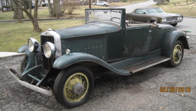 Long Damp Nap: 1931 Cadillac LaSalle Sport Coupe