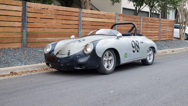 Racing Pedigree: 1960 Porsche 356 Cabriolet