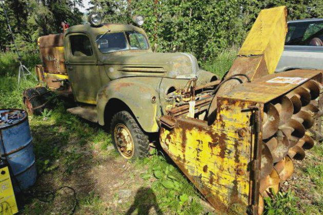 Spring Cleaning: 1942 Ford Snogo Snow Blower