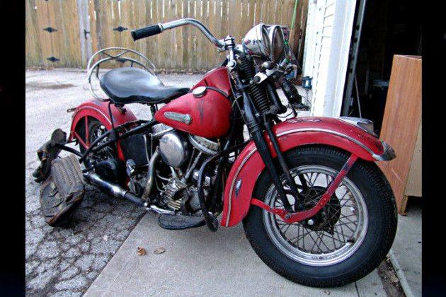 First Year Panhead 1948 Harley Davidson Touring