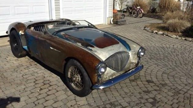 Hot Rod Healey: 1956 Austin Healey 100