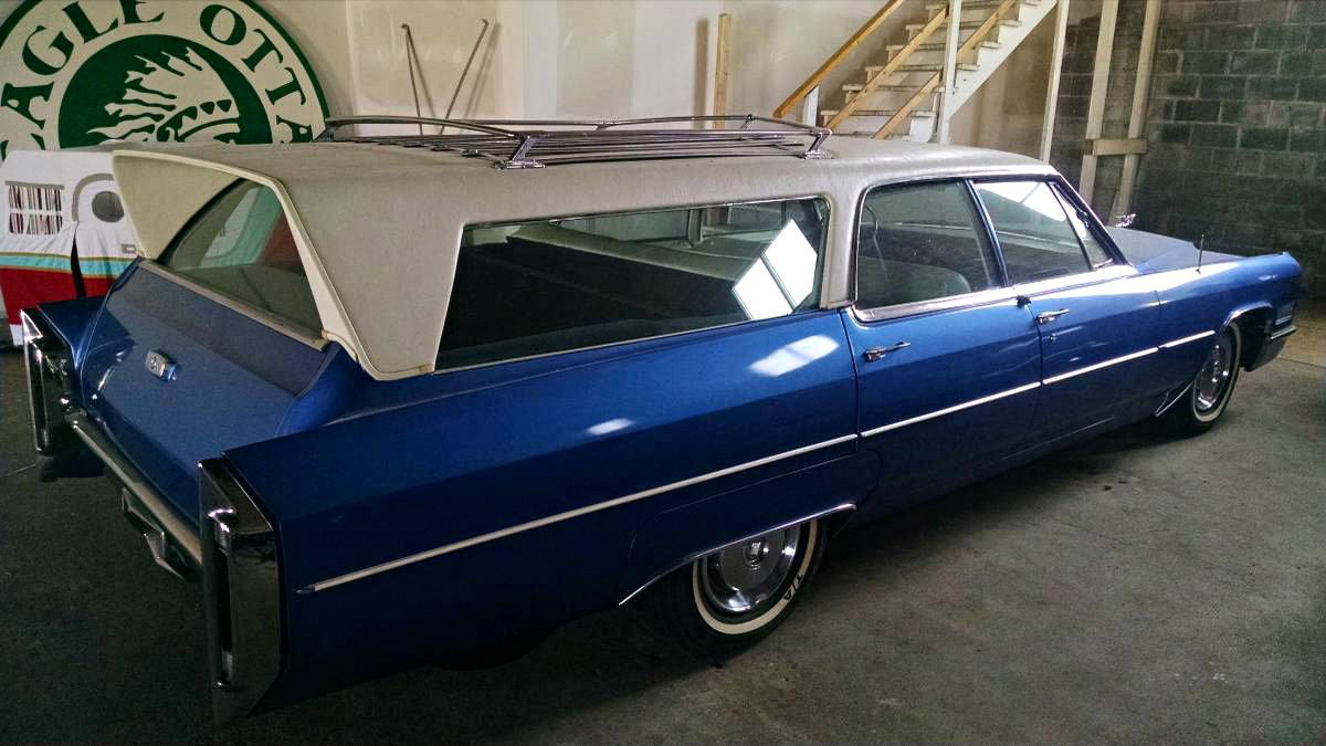 Low Mileage Custom 1966 Cadillac Deville Wagon