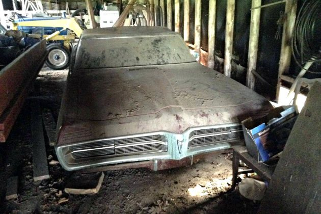 Stored 40 Years 1967 Pontiac Grand Prix