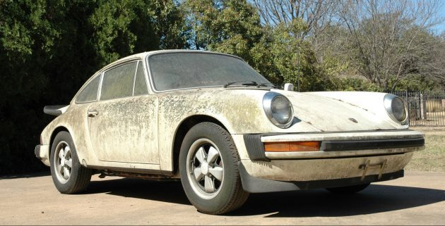 Algae-Coated Air-Cooled: 1976 Porsche 911
