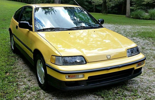 Y49 Survivor: 1990 Honda Crx Si