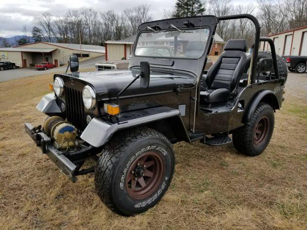 Godzilla Tough: 1985 Mitsubishi Diesel Jeep