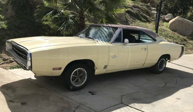 1970 Dodge Charger Rt Project Car Overall Solid Car For Sale: Perfect Project: 1970 Charger R/T Barn Find