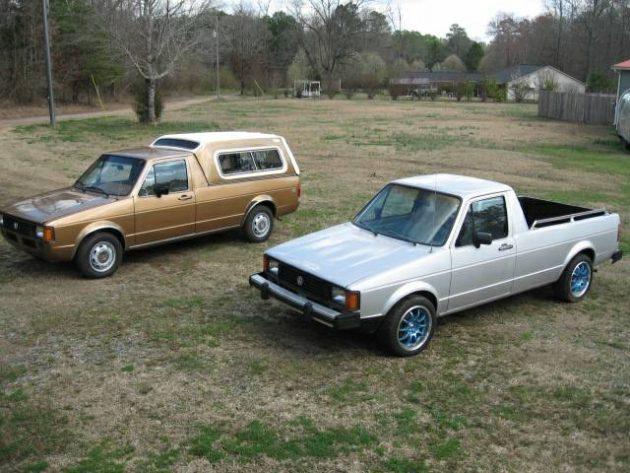 The Pickups VW Should Remake: 1981 VW Rabbit Pickup