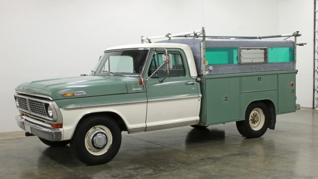 F250 Camper Shell >> Skaug Bed Equipped: 1970 Ford F250 Camper Special