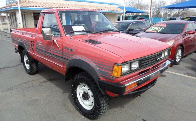 Dealer Trade Sport Truck: 1982 Datsun 720 4x4