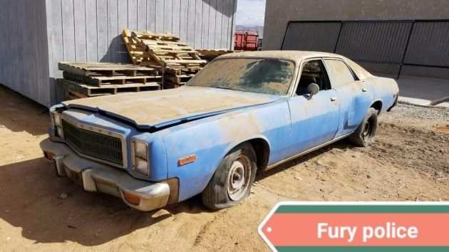 Is That You Roscoe? 1978 Plymouth Fury Police Car