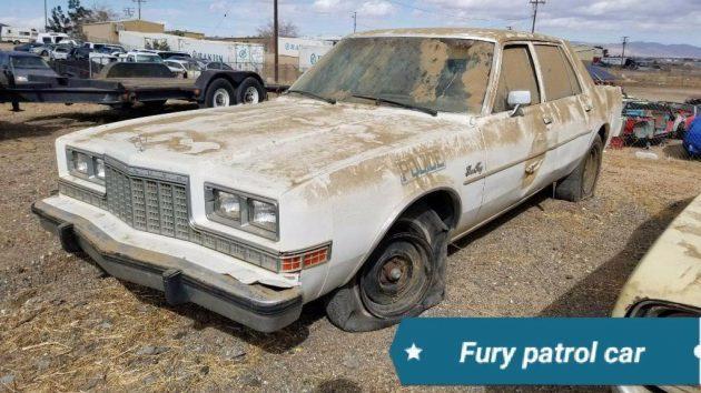 On Patrol: 1985 Plymouth Fury Police Car