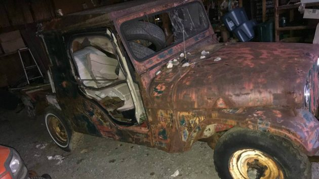 All The Cliches: CJ6 Jeep Shed Find