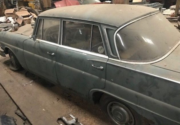 Barn Find Fintail: 1965 Mercedes 220S