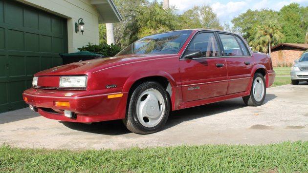 Four Door Quad 4 1989 Oldsmobile Cutlass Calais