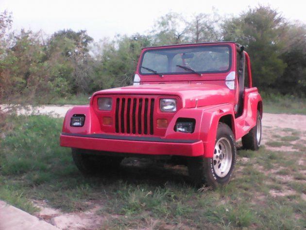 Ready For The Beach? 1992 Jeep Wrangler Renegade