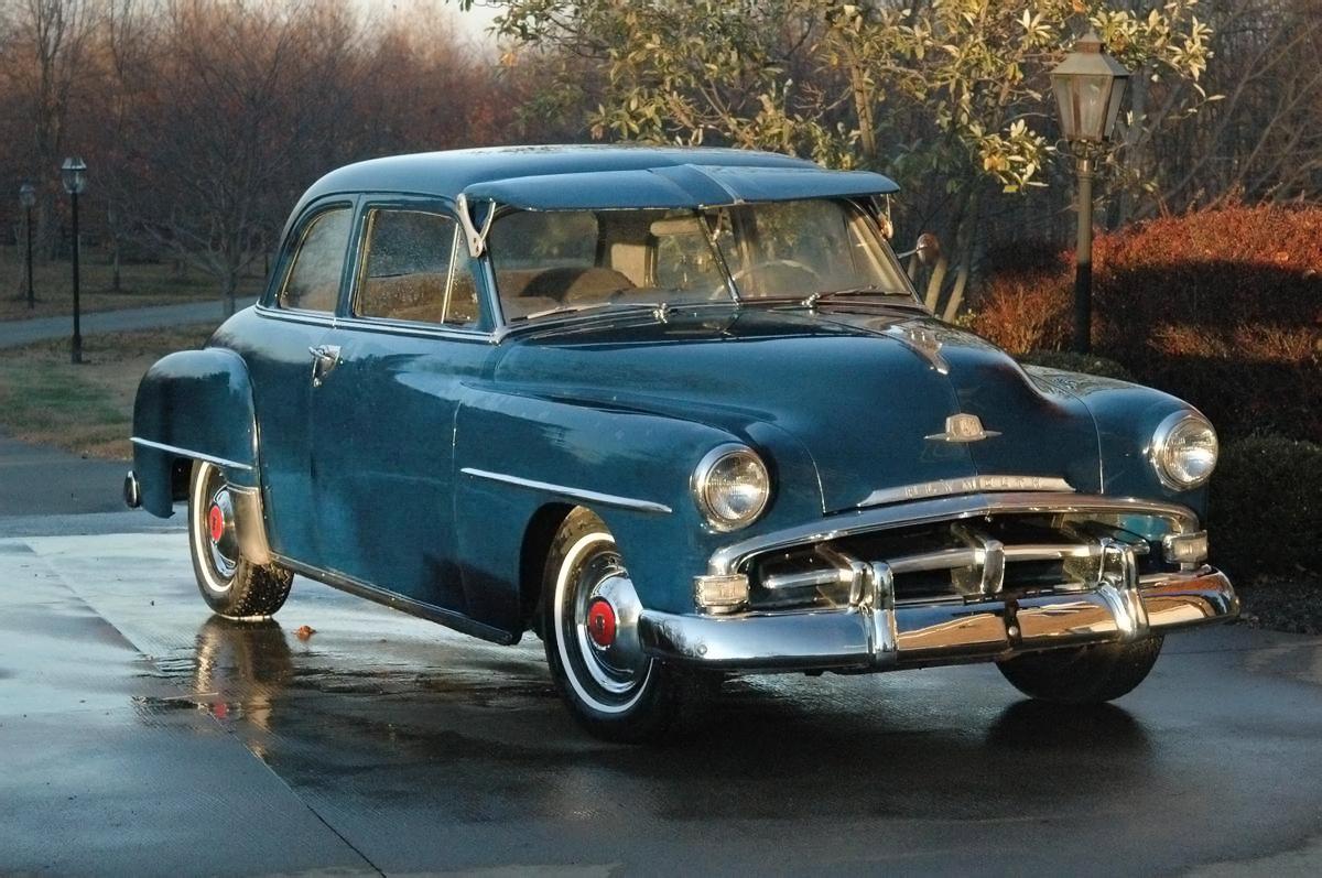 3 600 1952 Plymouth Cambridge Club Coupe