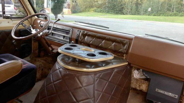 Pleasure Palace: 1972 Ford E200 Van