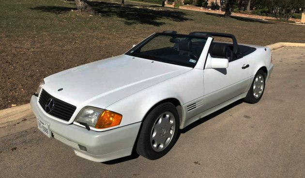 White delight 1991 mercedes benz 500sl for Mercedes benz cool springs