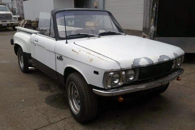The Blazette: 1974 Chevrolet LUV Convertible