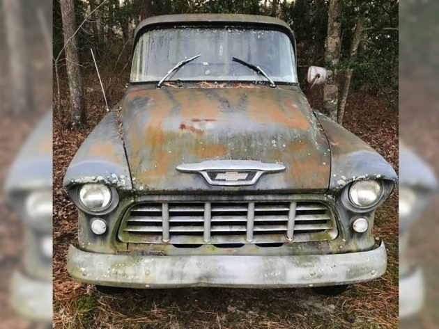 1-Ton Project Pickup: 1955 Chevrolet 3800