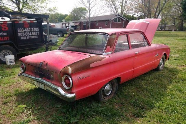 $2,500 Barn Find Falcon: 1963 Ford Falcon