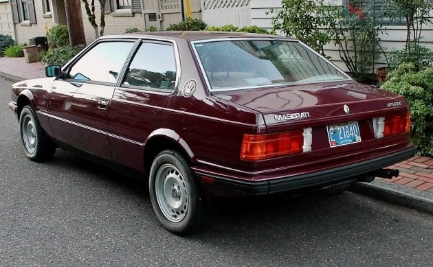 1984 maserati biturbo value