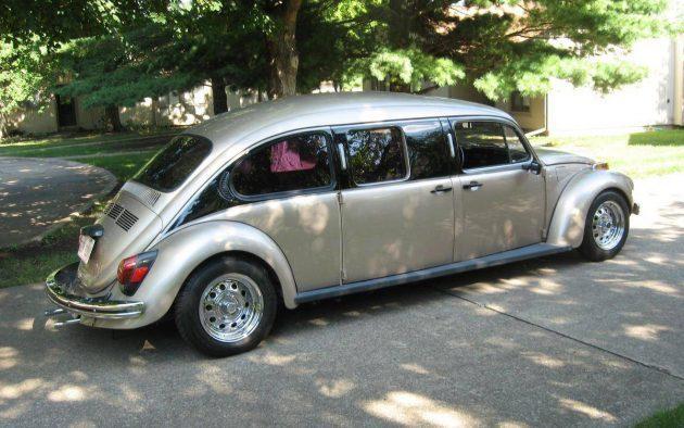 Sweet Stretch: 1972 Volkswagen Beetle Limo