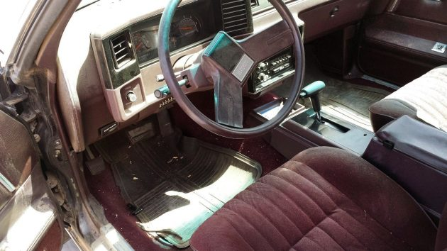 Choo choo ss 1986 chevrolet el camino but the seller has included two interior photos and even gasp an engine photo well done the interior is somewhat equally burnt from the sun but it publicscrutiny Choice Image