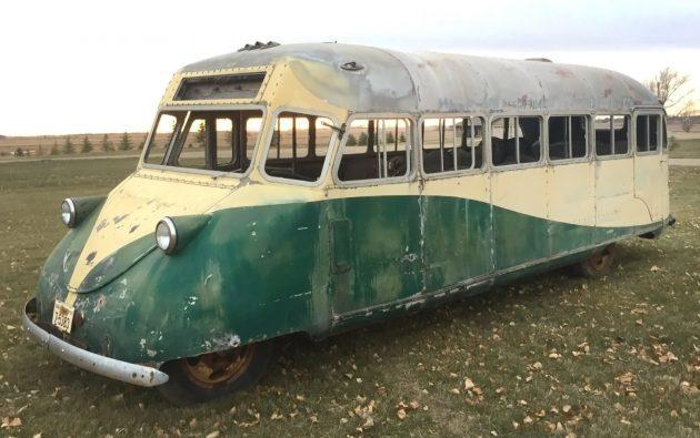 Ford Flathead V8 Pusher: 1938 Gar Wood Bus